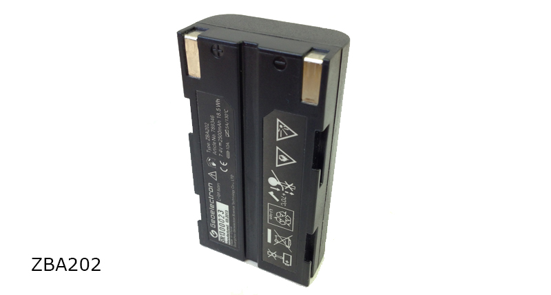 GeoMax Batteries and Chargers ZBA202